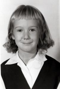 Me, Grade 1, St. Luke's School