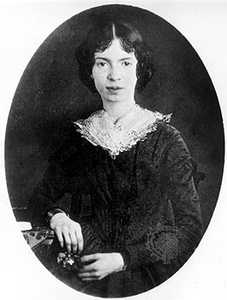 Emily Dickinson, c. 1850