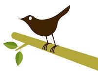 Twitter-press bird