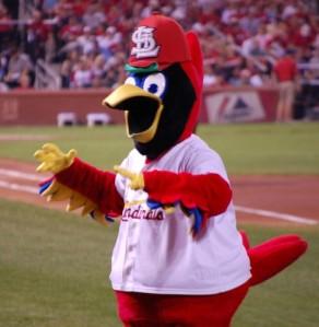 Cardinals mascot, Fredbird